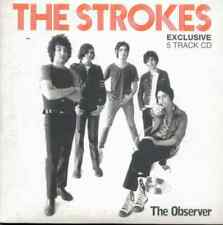 THE STROKES: 5 TRACK UK PROMO CD (2003) NEW YORK CITY COPS, LAST NITE, 12:51 ETC