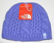 the north face youth girls starry purple cable minna beanie small