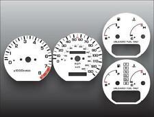 1988-1989 Acura Integra Dash Instrument Cluster White Face Gauges