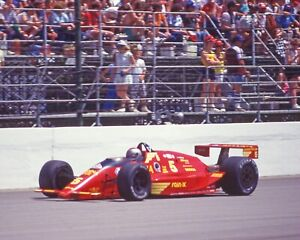 1987 MARIO ANDRETTI Hanna Auto Wash Chevrolet 8x10 Photo Indianapolis 500 Poster