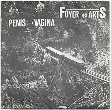 "7"" FOYER DES ARTS - Penis - Vagina  1988"