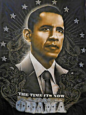 Barack Obama THE TIME IS NOW  Tee Shirt