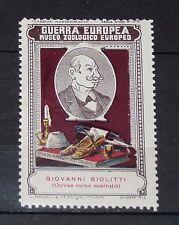 DELANDRE CINDERELLA 1915 ITALIE GUERRE 14-18 MARUCELLI ZOO GIOVANNI GIOLITTI