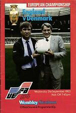 EM-Qualifikation 21.09.1983 England - Dänemark