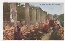 Palestine, Samaria, The Collonade Postcard #2, B215