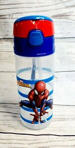 Marvel Spiderman Kids / Children's Water Level Goals Drinking Water Bottle