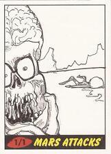 Mars Attacks Heritage - Unknown Artist Sketch Card