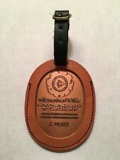 Pro Golfer Jerry McGee's 1978 Dunlop Phoenix Tournament Bag Tag - Phoenix C.C.