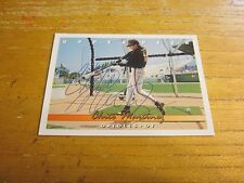 Chito Martinez Autographed Signed 1993 Upper Deck #514 Trading Card MLB Orioles