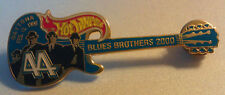 Hot Wheels BLUES BROTHERS Guitar DATONA 500 LAPEL PIN