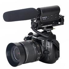 TAKSTAR Recording MIC Microphone for Nikon Canon Camera Camcorder DSLR DV Cam