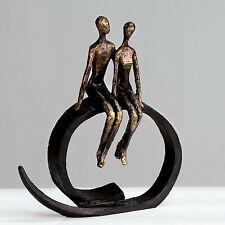 """CASABLANCA Arte Decoración Escultura """"Close"""" hermosa objeto decorativo"""