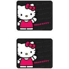Plasticolor Hello Kitty Sanrio Waving Front & Rear Car Truck SUV floor mats set