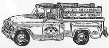 Unmounted Rubber Stamps, Trucks, Pick Up Trucks, Vintage Trucks, Cards for Men