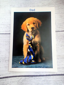 Easter Card DAD HUGS KISSES Puppy Dog Lab Papyrus Greeting Card
