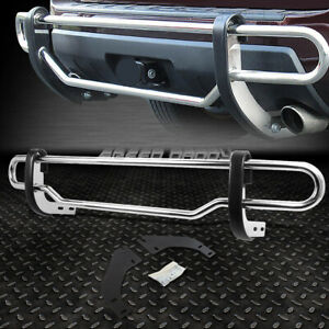 FOR 08-12 ESCAPE/TRIBUTE STAINLESS STEEL DOUBLE BAR REAR BUMPER PROTECTOR GUARD