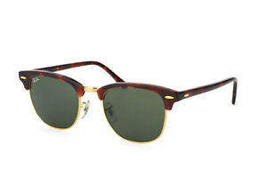 Ray-Ban Clubmaster RB 3016 W0366 Large Arista, 51mm Glasbreite
