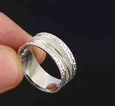 WEDDING BAND .925 SOLID STERLING SILVER RING SIZE 9.25 #61597