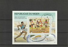 Niger 1976 Montreal Olympic Games Mini Sheet CTO