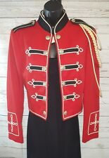 Vtg DeMoulin De Moulin Bros & Co Marching Band Uniform Bolero Jacket Sz 53 #1902