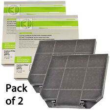 AEG EFF72 Genuine Carbon Cooker Hood Vent Extractor Odour Filter 267 x 237mm x 2