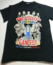 Mid South Legends FanFest Shirt Autographed Rare Wrestling WWF WWE