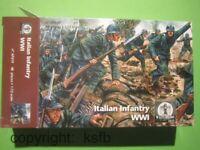 1:72 Waterloo1815 #019 WKI Italien Infanterie Soldaten Figuren Konvolut Armee