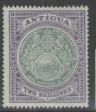 ANTIGUA SG38 1903 2/= GREY-GREEN & PALE VIOLET MTD MINT