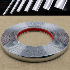 15m Car Chrome Moulding Trim Strip Adhesive 6/8/10/12/15/18/20/22/25/30mm Width