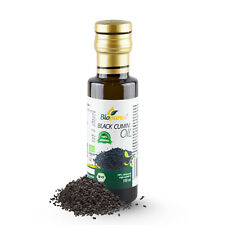 Certified Organic Cold Pressed Black Cumin / Black Seed Oil 100ml Biopurus