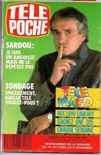 ▬►Télé Poche 1185 (1988) SARDOU_J.M JARRE_RIKA ZARAÏ_COLUCHE_KYLIE MINOGUE