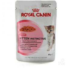 Royal Canin - Gravy - 2 x Kitten Instinctive  pouch 85g -Feline health nutrition
