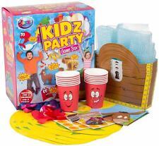 enfants fête 8 jeux amusant BOITE CADEAU BALLONS ANNIVERSAIRE activités Bulles