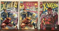 Lot Of 3 X-men #1's jim lee Marvel Nm condition.