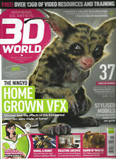 3D WORLD,  ISSUE, 2017   ISSUE, 226  ( SORRY FREE OVER 13GB OF VIDEOS MISSING.)