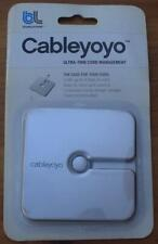 CableYoYo Ultra-Thin Cord Management - BRAND NEW IN PACKAGE - Silver Color
