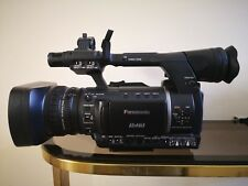 EX Condition: Panasonic AG-HPX250 Camcorder plus two 32GB P2 cards, original box