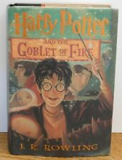 Harry Potter and the Goblet of Fire 1st American Edition 1st Print 2000 Hardcove