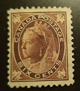 Canada stamp #71 mint OG HR F/VF