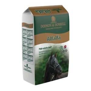 Dodson & Horrell Alfalfa 20Kg Horse Pony Feed High Calorie Chaff Equestrian Food