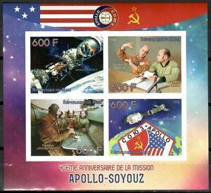 Apollo Soyuz Test Project Leonov Stafford space m/s Lollini cat #ML15 78 IMPERF