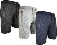 New Mens Summer Sports Running GYM Training Elastic Jogging Fleece Short S - XXL