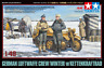 Tamiya 32412 Luftwaffe Crew (Winter) w/Kettenkraftrad 1:48 Scale Kit
