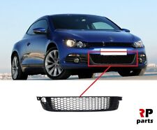 FOR VW SCIROCCO 2009 - 2014 NEW FRONT BUMPER LOWER CENTER GRILLE BLACK