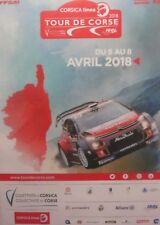 WRC Rally de France TOUR DE CORSE 2018  Official Poster   Kris Meeke Citroen C3
