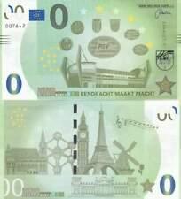 Biljet billet zero 0 Euro Memo - PSV Eendracht maakt Macht (072)