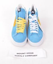 2008 NWOB MENS NIKE SB BLAZER EU SWEDEN QS SHOES US 9 Aurora Blue/ Varsity Maize