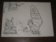 menu asterix festin journal la montagne auvergne ceyrat 1967 uderzo