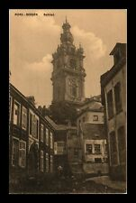 DR JIM STAMPS BELL TOWER MONS BERGEN BELGIUM VIEW POSTCARD