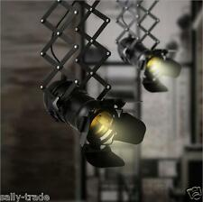 Industrial Ceiling Pendant Lamp Adjustable Spot Light Bar track Light Fixture